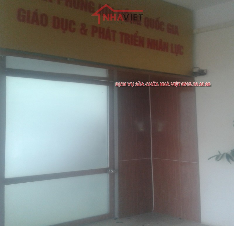 Sửa chữa, cải tạo nội thất văn phòng bộ giáo dục quận Hai Bà Trưng
