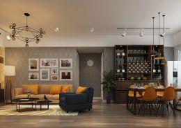 Cải tạo nội thất chung cư Thái Hà trở nên sang trọng